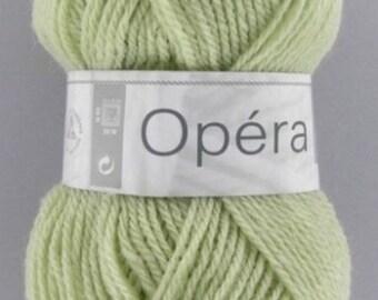 Wool OPERA No. 141 seagreen color