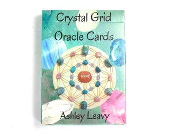 Crystal Grid Oracle Cards Tarot Gridding Instructions Designs Recipes How To