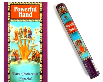 HEM Powerful Hand Incense 20 9 Inch Sticks Box Catholic Saints Religious Offering Altar Tools Protection