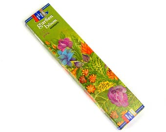 Satya GARDEN BLOOM Incense Sticks 10 Gram Box 12 Sticks