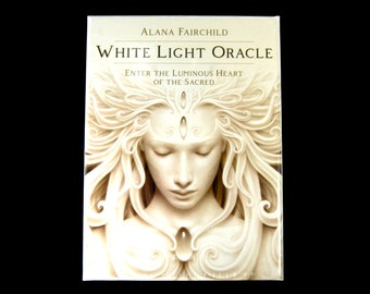 White Light Oracle Card Deck and Book by A. Andrew Gonzalez Divination Tools Boxed Set Lightwork Tarot