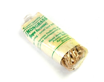Lemongrass Tibetan Rope Incense 45 Ropes Bundle Himalayan
