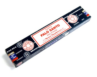 Satya PALO SANTO Incense Sticks Nag Champa 15 Gram Box