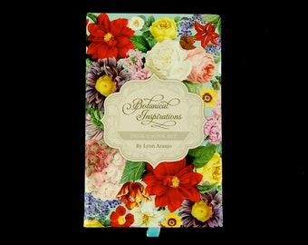 Botanical Inspirations Deck & Book Set Lynn Araujo Victorian Language of Flowers Tarot Card