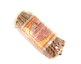 "Jumbo SAL DHOOP Tibetan Rope Incense 50 5"" Ropes Bundle Himalayan"