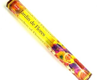 HEM Garden of Flowers Incense 20 9 Inch Sticks Box