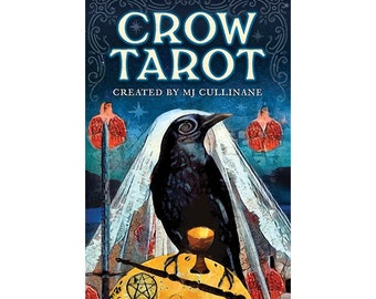 PREORDER Crow Tarot Deck by Margaux Jones Divination Tools Cards Raven Ravens