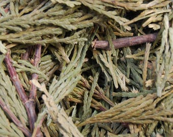 Natural Loose Aromatic Cedar 1 Ounce For Smudging Potpourri or Incense Blends