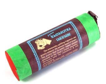 "Tibetan Kamasutra Incense 30 4.5"" Sticks with Holder Kama Sutra"