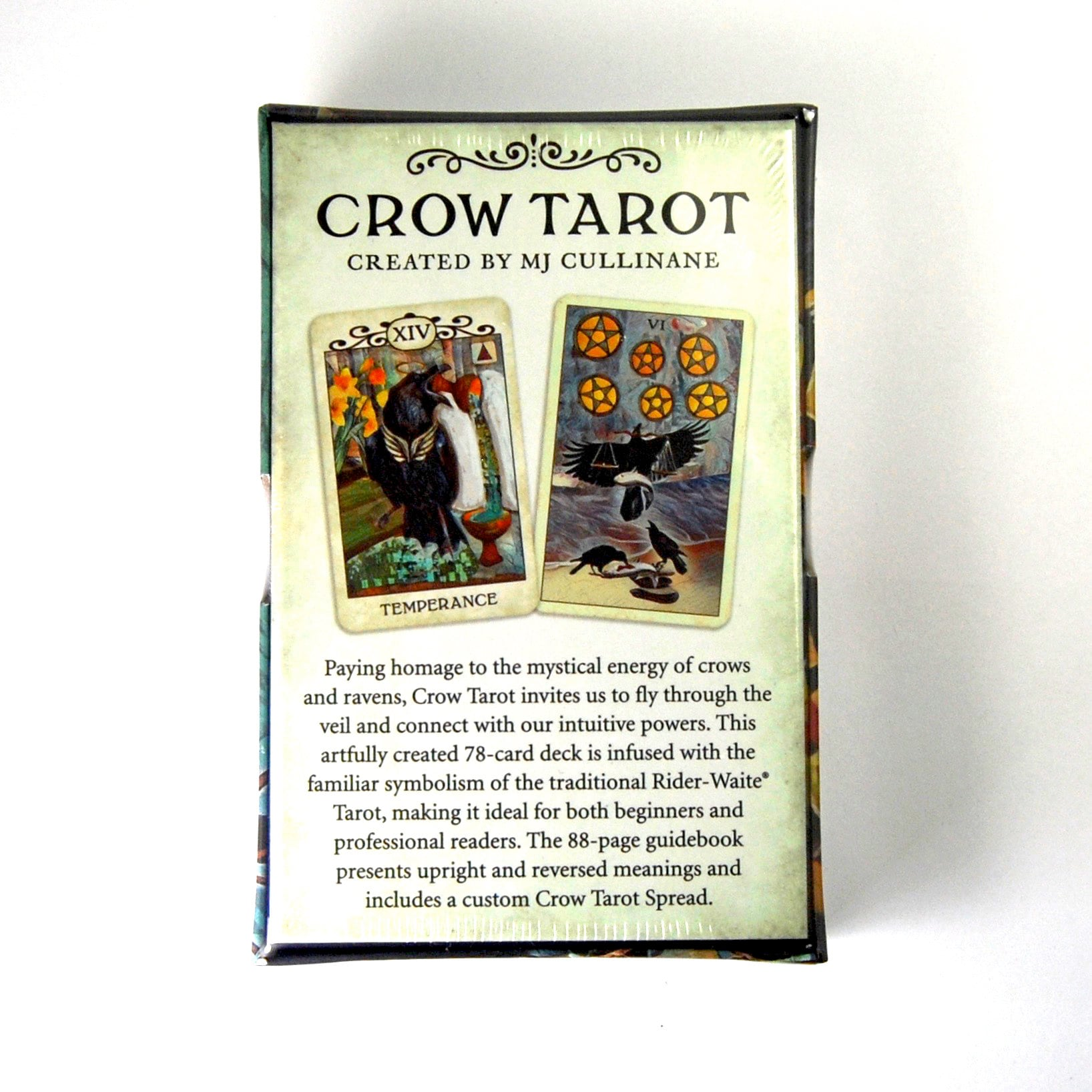 Crow Tarot Deck by Margaux Jones Divination Tools Cards