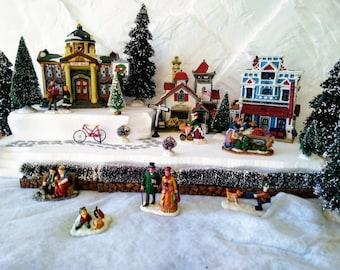 Styrofoam Display Platform for Christmas Villages (Lemax, Dept 56, Dickens, North Pole, Snow Village)