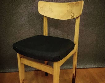 Pyrographed Retro Sailor Chair