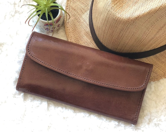 Handcrafted Authentic leather Wallets for women - women's leather wallets  - wallet women - gift for her