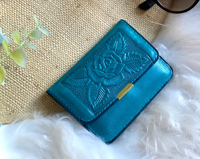 Small wallet woman - Gift for woman - leather wallets for woman- Gift for her