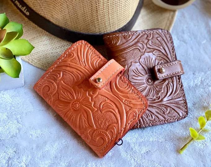 Small wallet woman - Gift for woman - leather wallets for woman- Gift for her- small purse - woman wallet