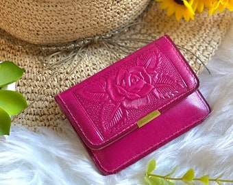 Small Wallet - Women's Wallets - Small leather wallet - Gift for her- leather wallet - woman wallet