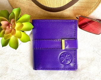 Fun authentic leather wallets for women - Handcrafted leather wallet - Leather woman wallet - gift for her