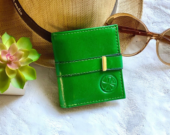Authentic leather wallets for women - Handcrafted leather wallet - Leather woman wallet - gift for her