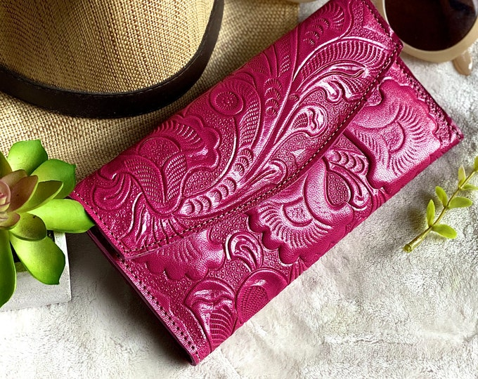 Authentic leather wallets for women -woman wallet -Gifts for her