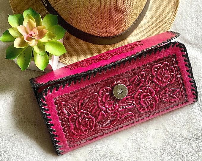 Leather wallets for women  - Leather wallet women's - Western wallets - Bohemian wallet- gifts for her- boho