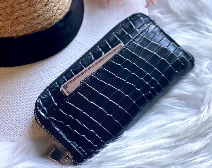 Leather wallet •  womens wallet • gifts for her