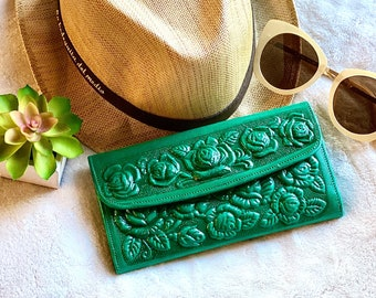 Leather card wallet- Handmade wallet leather -Wallet Woman- Gift for her- leather wallet women's