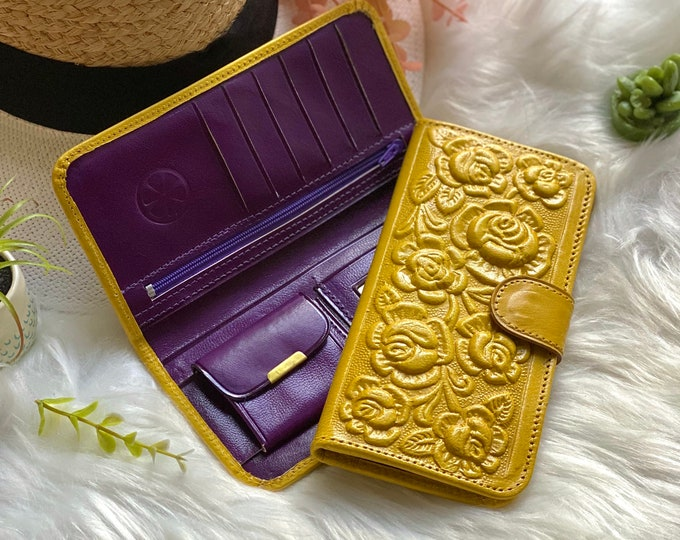 Handmade leather women's wallets* leather wallets * gifts for her