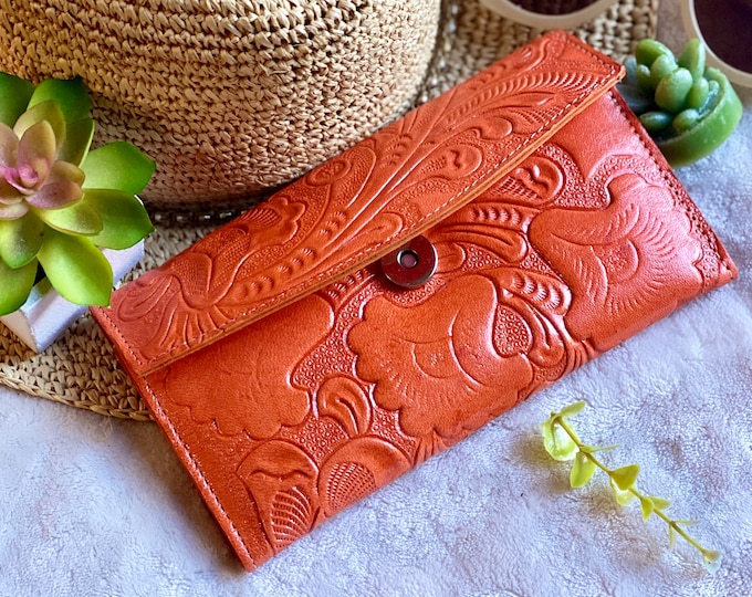 Authentic leather handmade wallets for women - leather wallet - purse for women - wallets for women - gifts for her