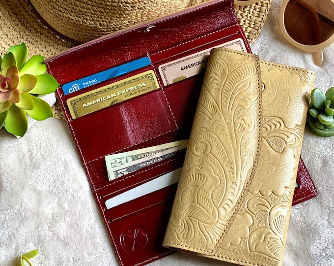 Handmade authentic leather wallets for women-woman purse-gifts for her leather wallet women -woman wallet -leather wallet  - gifts for her