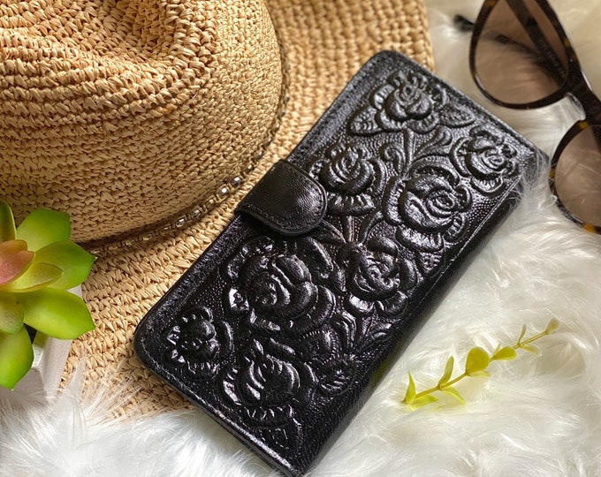 Leather wallets for women- Leather Wallet Woman- Gift for her- Women Wallet -Credit Card Wallets