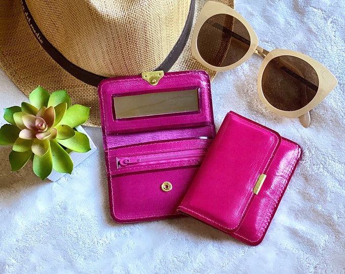 Small leather wallets / Small wallet for purse / small wallet /Gift for her
