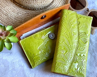 Authentic leather women's wallet - wallet woman - women wallet - leather wallet - leather women's wallet - gift for mom