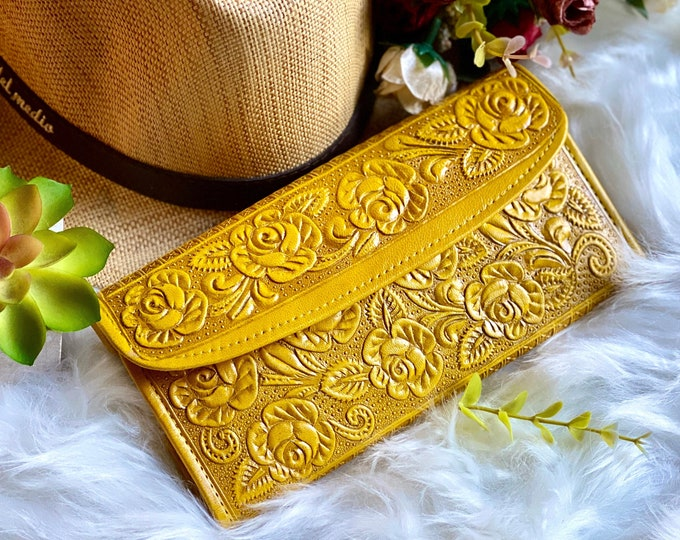 Leather wallets for women-womens wallets -gift for her-woman purse