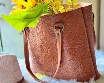 Authentic leather tote  bags for women* Gifts for her* woman purse