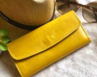Leather Wallets for Women - Birthday Gift for Woman - Woman wallet leather - leather purse woman - gift for her