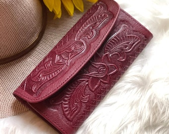 Handmade leather women wallets - Gifts for her - Credit card holder