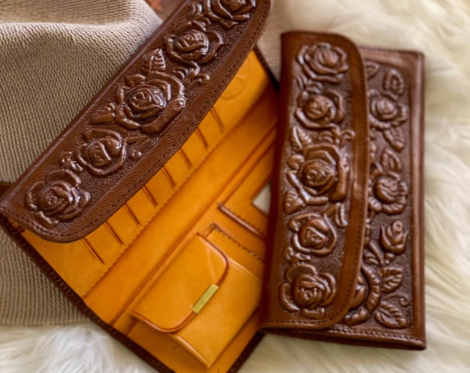 Wallets for women • gifts for her •leather wallet women • Vintage style