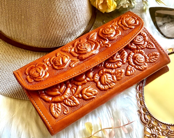 Handmade leather wallets for women -wallet women -women's leather wallet -leather wallet woman-gift for her -woman purse