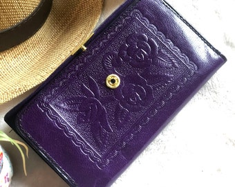 Handmade Authentic leather small wallet - Wallets for women - gifts for her