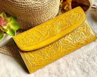 Leather wallets for women - gifts for her -wallets women- leather wallet women