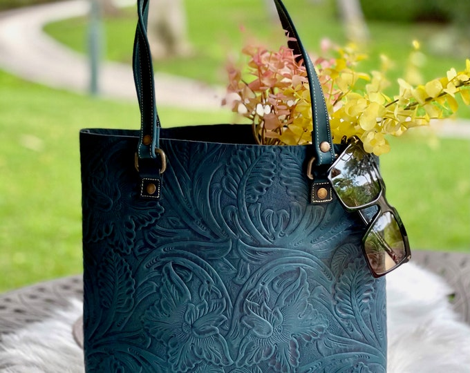 Leather tote bag for women •Leather bags women • Mother's Day Gift