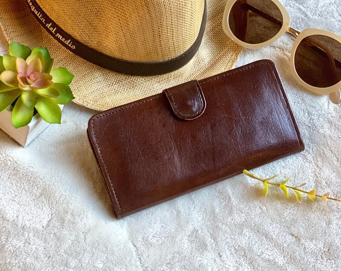 Handmade Leather Wallets for Women - Leather Wallets bicolor- Gifts for her - woman wallet leather -