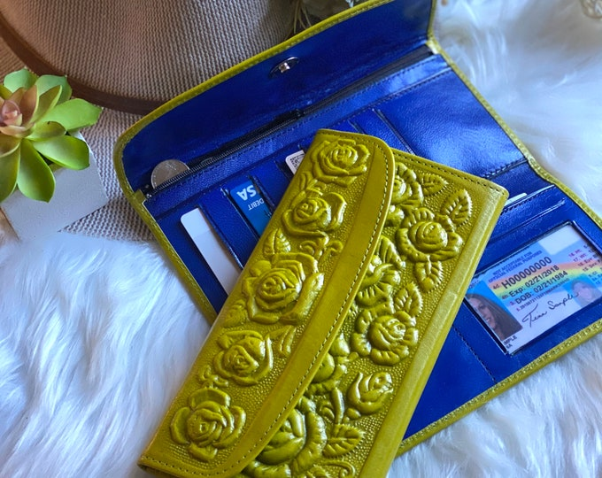 Handmade leather wallet- wallets for women - Gifts for her