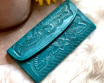 Handmade leather women wallets - Gifts for her -Credit card holder