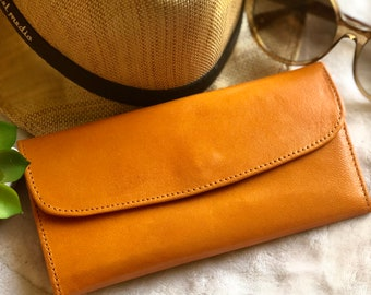 Leather Wallets for Women * Birthday Gift for Woman - leather gifts for her