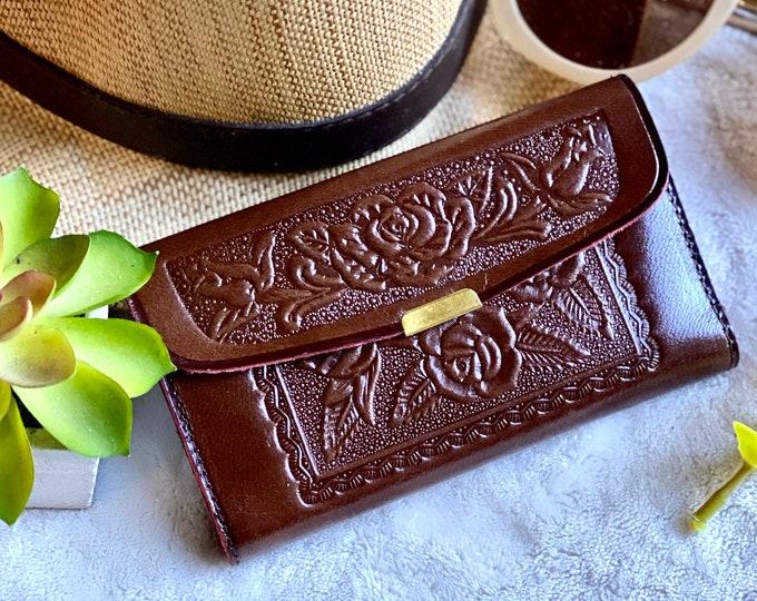 Woman small wallet - Leather wallet woman - Small cute wallet - gift for her - leather wallet woman - Small woman wallet - women's wallet