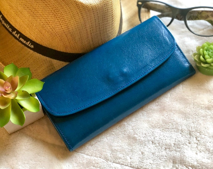 Leather Woman Wallet*Women's Wallet*Wallets for Women*Leather Wallet for Women* Birthday Gift* Women Gifts*Gifts for Mom*Summer