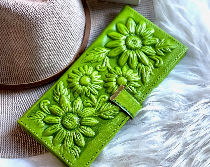 Bohemian women's wallets • sustainable leather wallets • handmade wallets • gifts for her