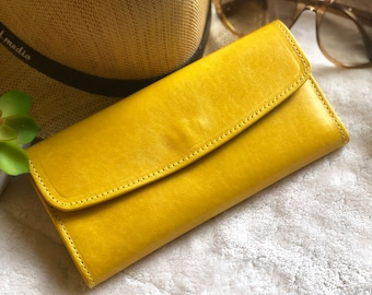 Leather Wallets for Women * Birthday Gift for Woman