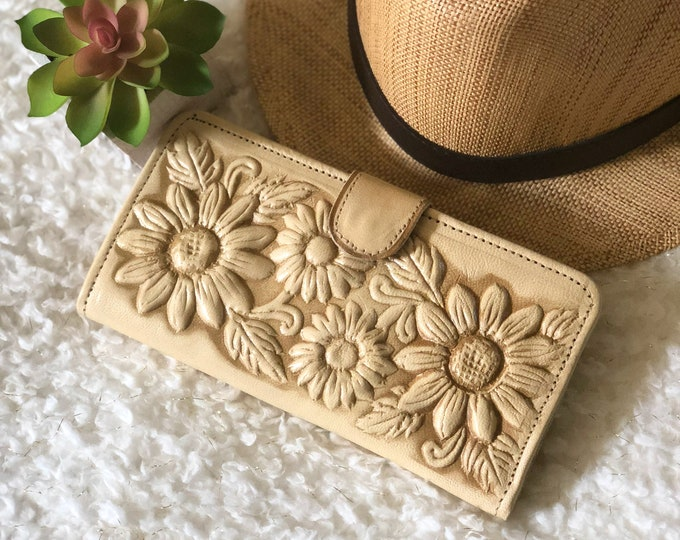 Leather wallets for women • Gifts for her • Boho wallet • wallet women
